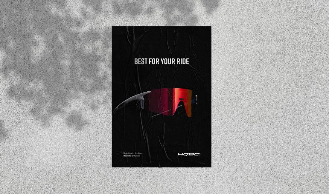 HQBC visual identity - poster